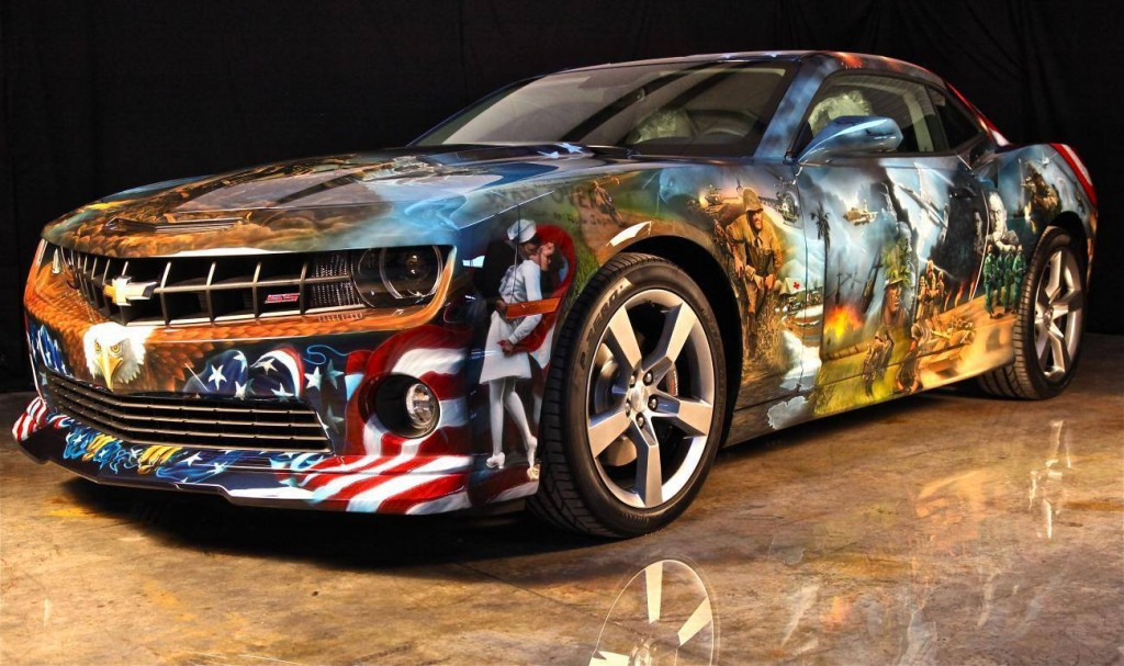 American Pride Camaro