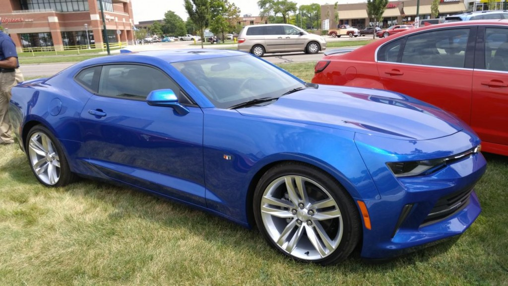 CAMARO6 – 2016 Camaro set for Woodward Dream Cruise