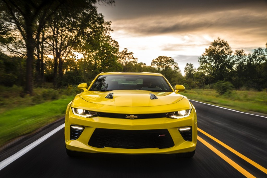 2016 Camaro Headlines Chevrolet Find New Roads™ Trip
