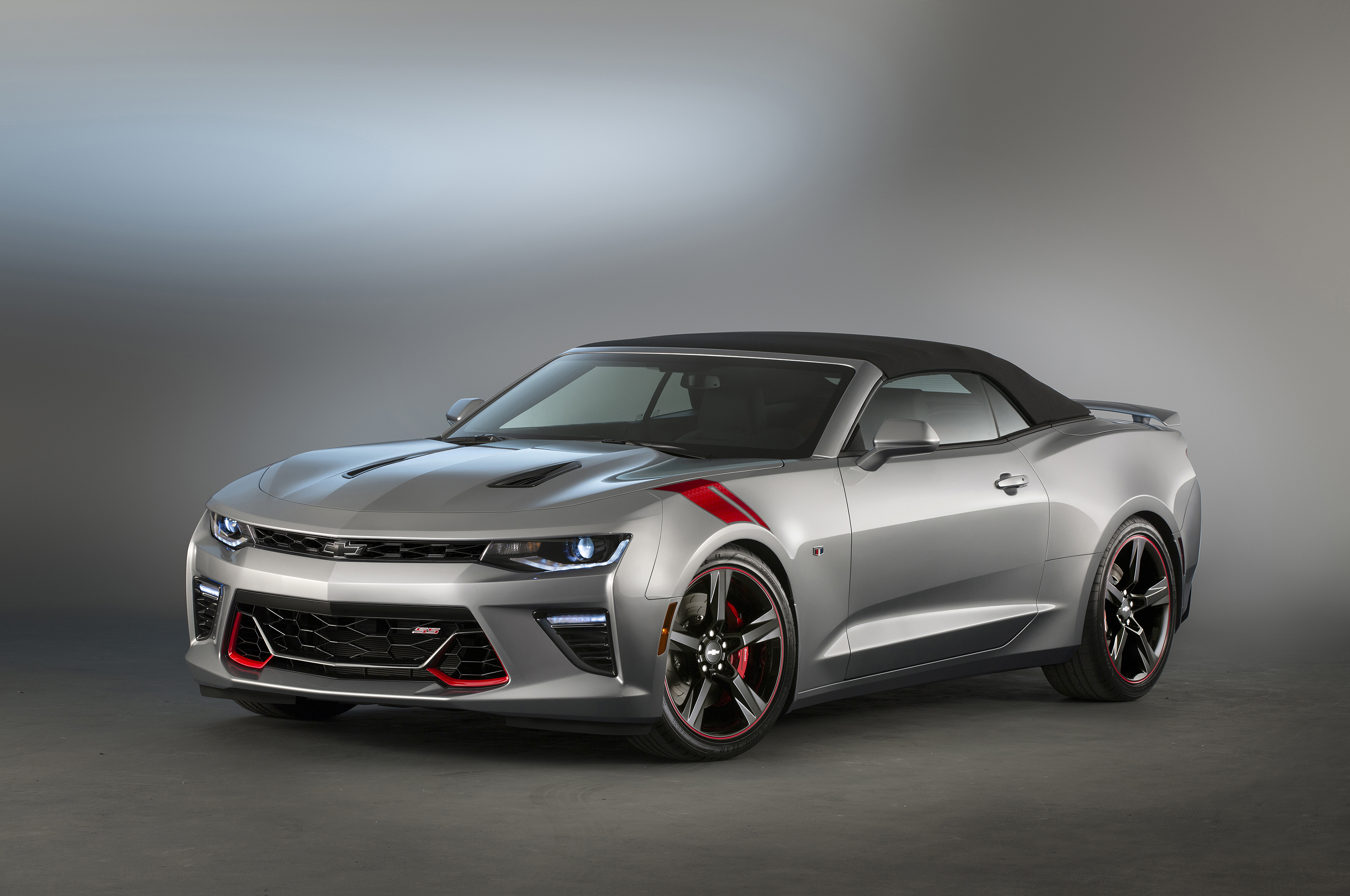 Camaro SS Red Accent Package concept