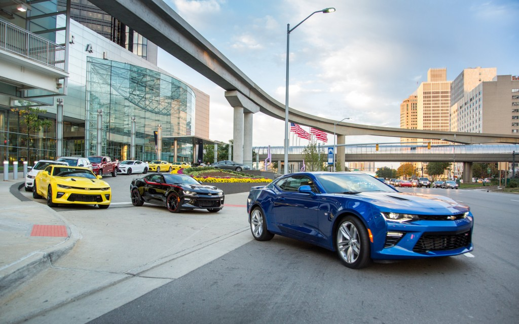2016 Camaro Heads Out On Chevrolet Find New Roads Trip