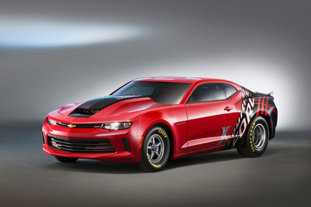 CHEVROLET INTRODUCES GEN SIX COPO CAMARO