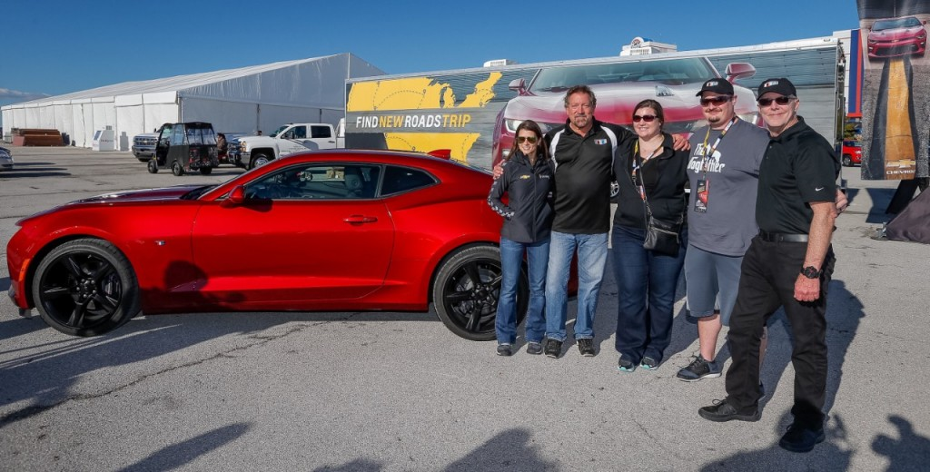DANICA PATRICK SURPRISES CUSTOMER WITH 2016 CAMARO