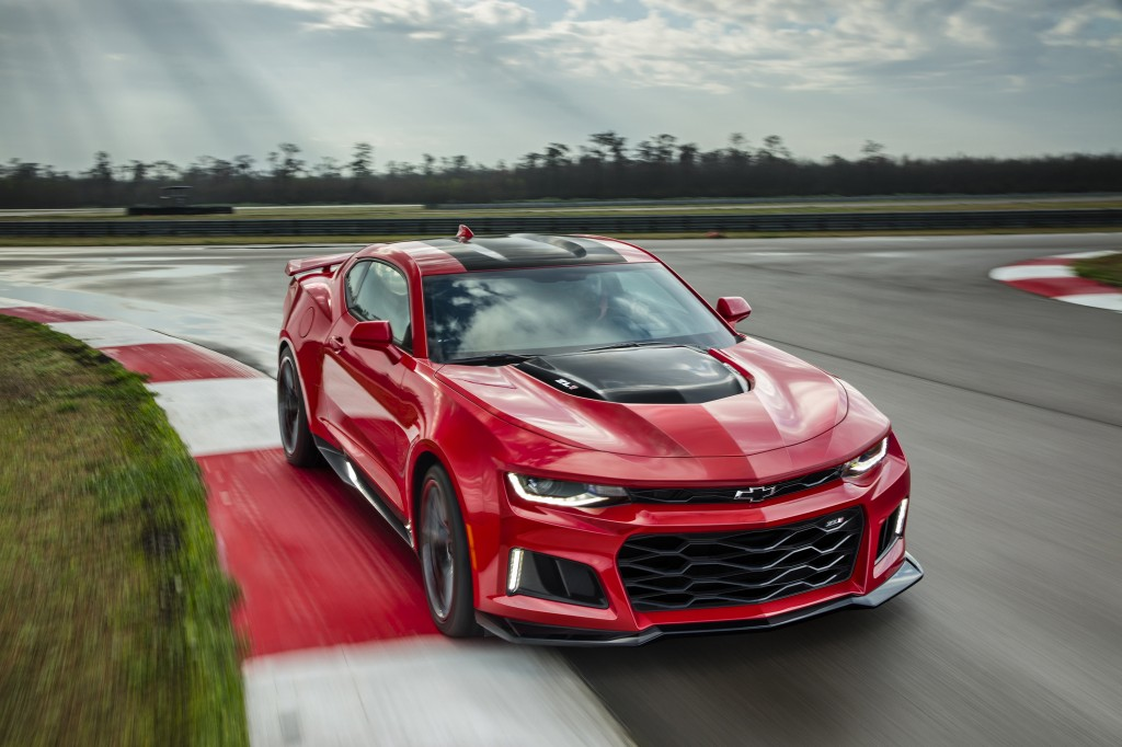 2017 Camaro ZL1 vs. Everybody