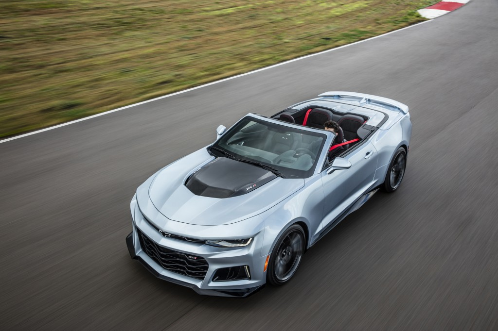 Chevrolet Camaro ZL1 Convertible Debuts At New York Auto Show