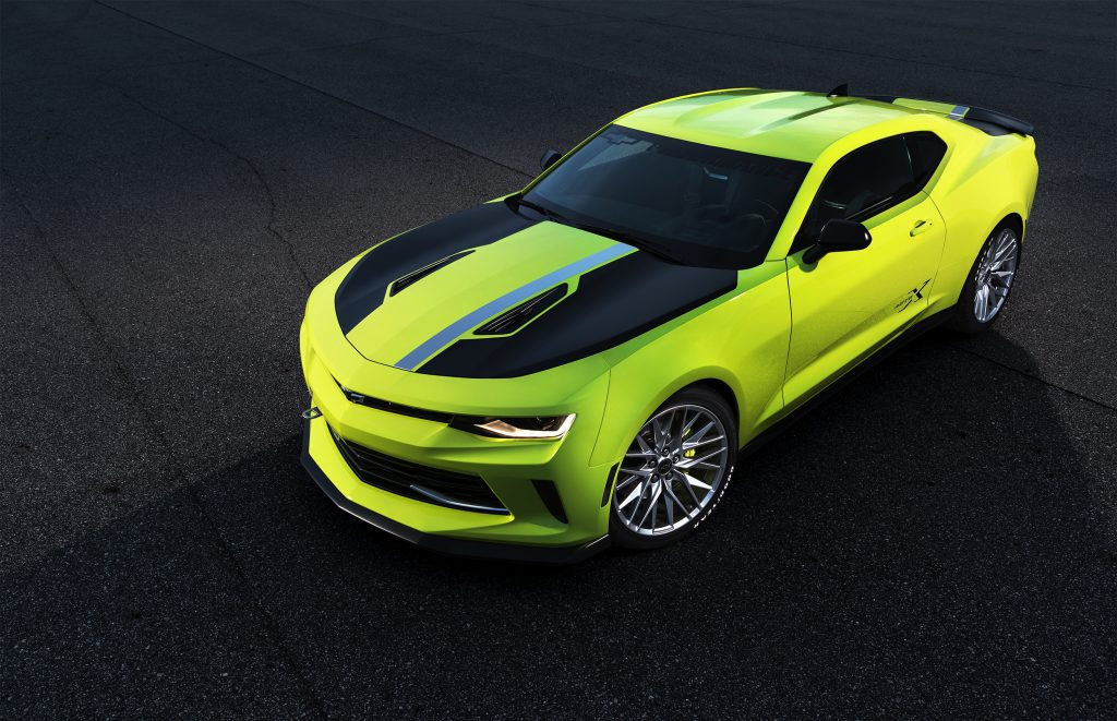 CAMARO TURBO AUTOX CONCEPT DESIGNED TO CARVE CONES