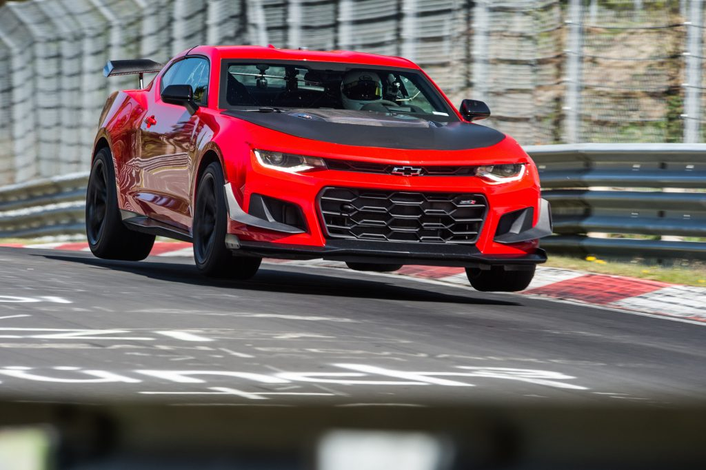 2018 ZL1 1LE SETS CAMARO RECORD AT NÜRBURGRING