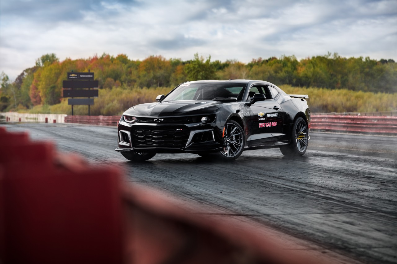 Chevrolet Camaro Zl1 Drag Development Program