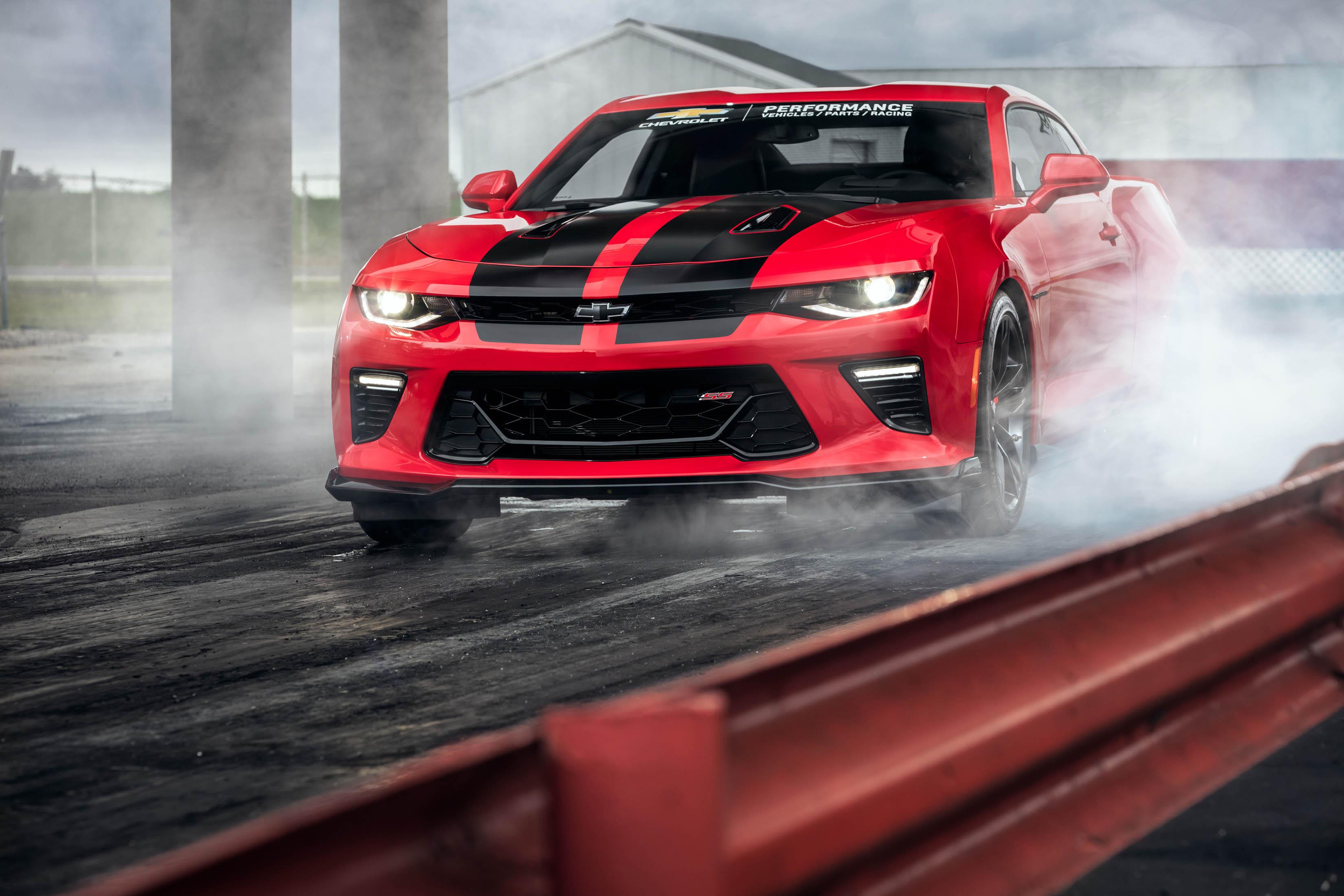 Chevrolet Camaro Zl1 Drag Development Program