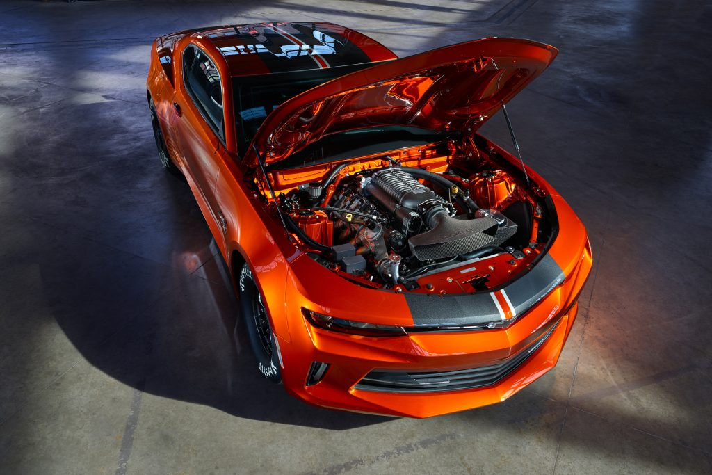2018 COPO Camaro Hits the Strip with All-New 302 Racing Engine, Available Hot Wheels Package