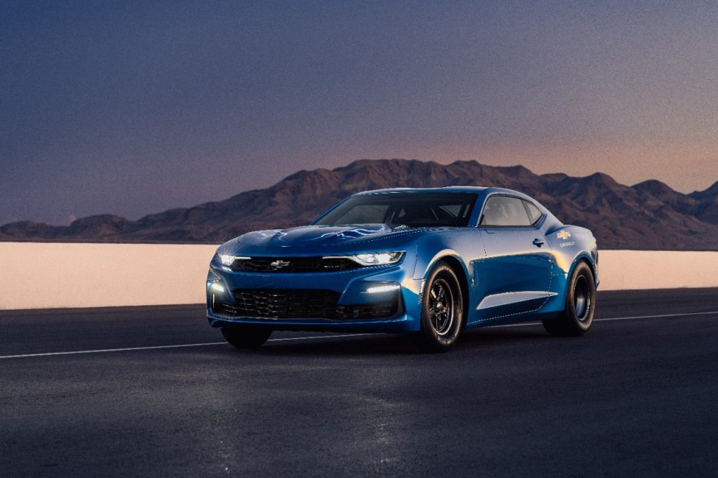 ECOPO CAMARO RACE CAR CONCEPT ELECTRIFIES DRAG RACING